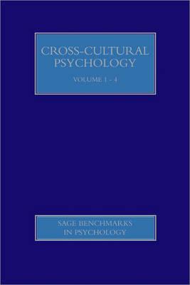 Cross-Cultural Psychology - SAGE Benchmarks in Psychology (Hardback)