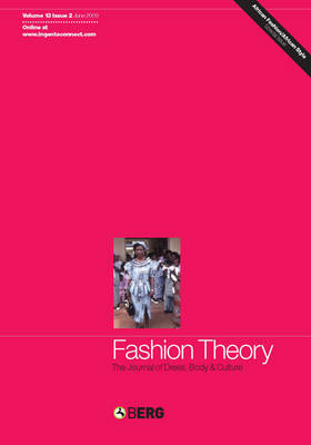 Fashion Theory: The Journal of Dress, Body and Culture - Fashion Theory v.13 (Paperback)