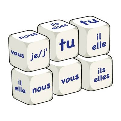 French Pronouns (pack of 6 dice): Word Dice