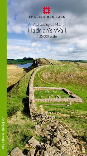 An Archaeological Map of Hadrian's Wall: 1:25000 Scale Revised Edition (Sheet map, folded)