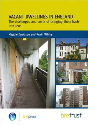 Vacant Dwellings in England: The Challenges and Costs of Bringing Them Back into Use (FB 25) (Paperback)