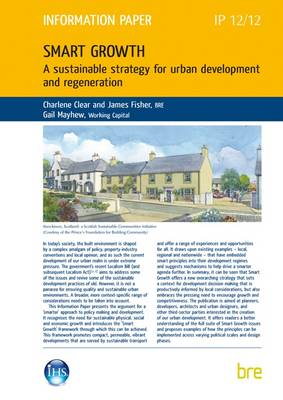 Smart Growth: IP 12/12: A Sustainable Strategy for Urban Development and Regeneration