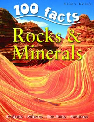 100 Facts - Rocks & Minerals (Paperback)