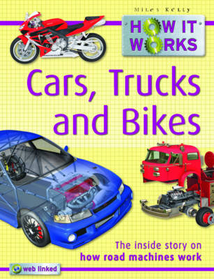 How it Works Cars, Trucks and Bikes - How it Works (Paperback)