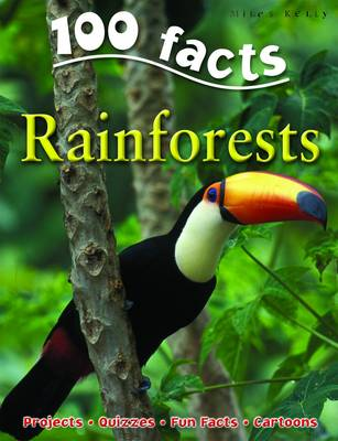 100 Facts - Rainforests (Paperback)