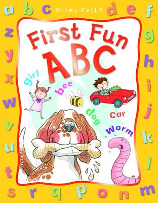 First Fun A B C (Board book)