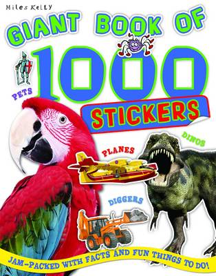 Giant Book Of 1000 Stickers (Paperback)