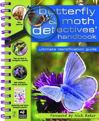Butterfly and Moth Detective Handbook - Detective Handbooks (Spiral bound)