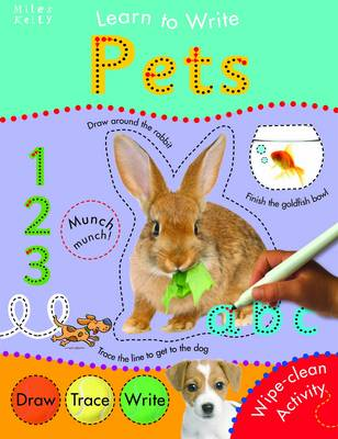 Pets - Learn to Write (Paperback)