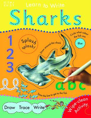 Sharks - Learn to Write (Paperback)