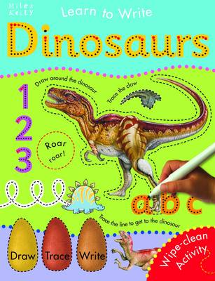 Dinosaurs - Learn to Write (Paperback)