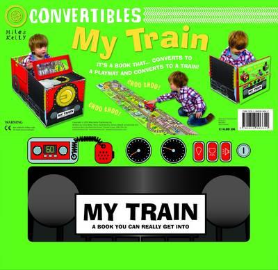 Convertible Train - Convertibles (Board book)