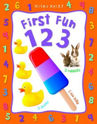 First Fun 1 2 3 - First Fun (Board book)