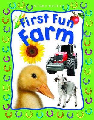 First Fun Farm - First Fun (Board book)