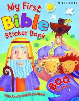 My First Bible Sticker Book (Paperback)