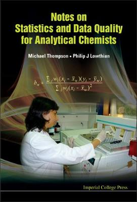 Notes On Statistics And Data Quality For Analytical Chemists (Hardback)