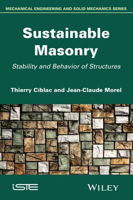 Sustainable Masonry: Stability and Behavior of Structures (Hardback)