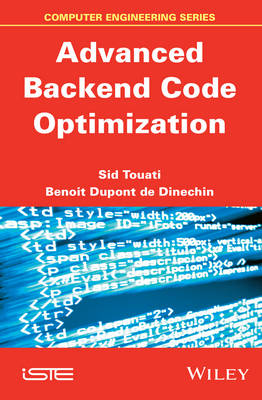 Advanced Backend Code Optimization (Hardback)
