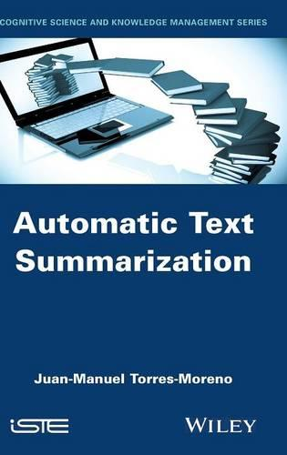 Automatic Text Summarization (Hardback)