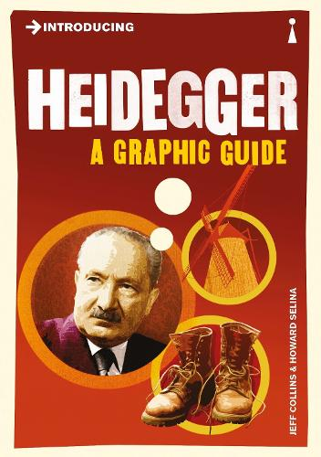 Introducing Heidegger: A Graphic Guide - Introducing... (Paperback)