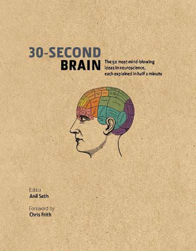 30-Second Brain: The 50 most mind-blowing ideas in neuroscience, each explained in half a minute - 30-Second (Hardback)