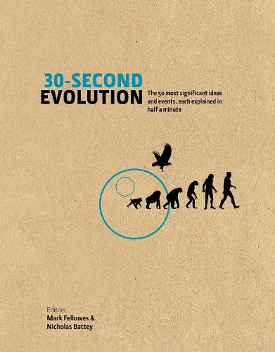 30-Second Evolution: The 50 most significant ideas and events, each explained in half a minute (Hardback)