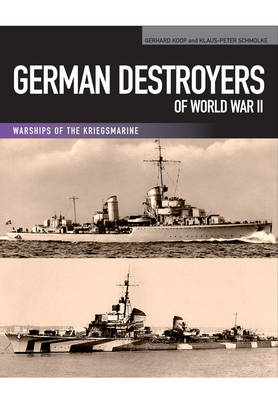 German Destroyers of World War II (Paperback)