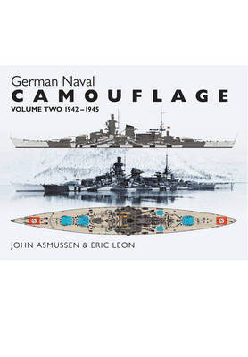 German Naval Camouflage Volume II: 1942-1945 (Hardback)