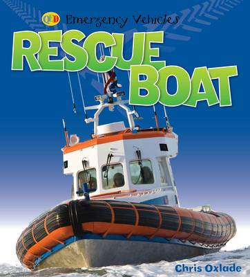 Rescue Boat - Emergency Vehicles (Paperback)