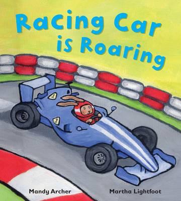 Racing Car is Roaring - Busy Wheels (Paperback)