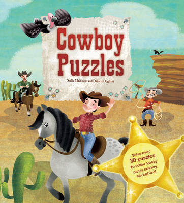 Cowboy Puzzles - Puzzle Adventure (Paperback)