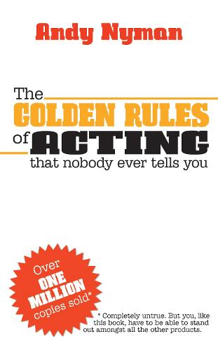 The Golden Rules of Acting (Paperback)