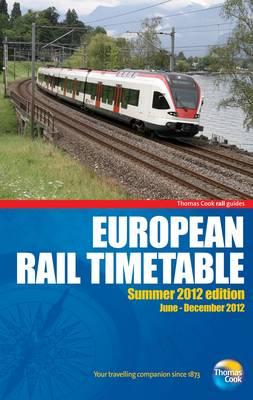 European Rail Timetable 2012: Summer - Rail Guides (Paperback)