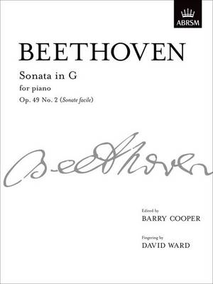 Sonata in G, Op. 49 No. 2 (Sonate facile): from Vol. I - Signature Series (ABRSM) (Sheet music)