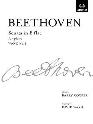 Sonata in E flat, WoO 47 No. 1: from Vol. I - Signature Series (ABRSM) (Sheet music)