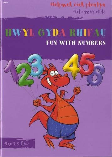 Helpwch eich Plentyn/Help Your Child: Hwyl gyda Rhifau/Fun with Numbers (Paperback)