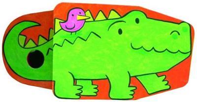 Llyfr Clec: Crocodeil (Hardback)