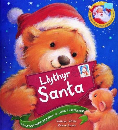 Llythyr Santa (Hardback)