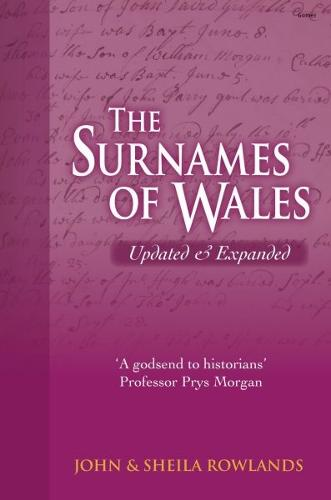 Surnames of Wales, The (Hardback)