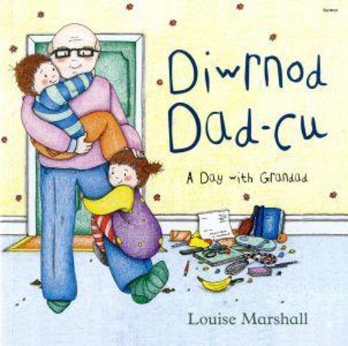 Diwrnod Dad-Cu/A Day with Grandad (Paperback)