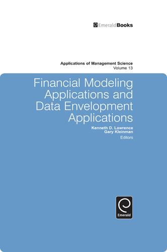 Financial Modeling Applications and Data Envelopment Applications - Applications of Management Science 13 (Hardback)