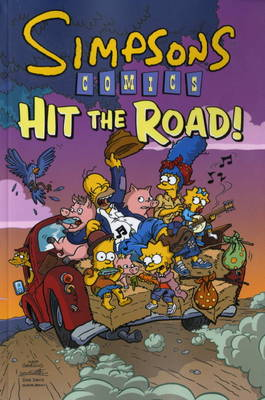 Simpsons Comics Hit the Road (Paperback)