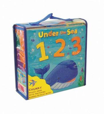 Under the Sea, 1 2 3 (Board book)