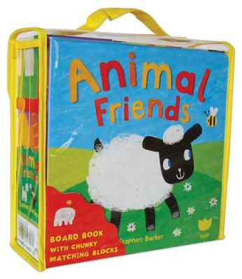 Animal Friends - Book and Block Sets (Board book)