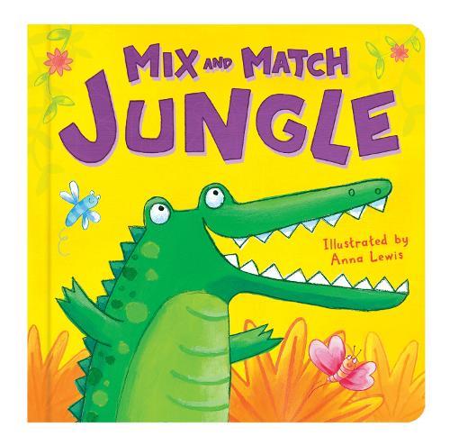 Jungle - Mix and Match (Board book)