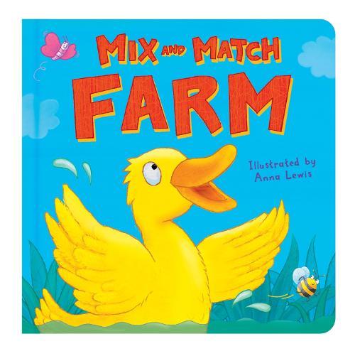 Farm - Mix and Match (Board book)
