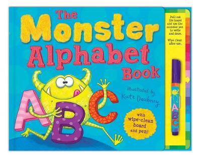 the monster alphabet book by kate daubney waterstones