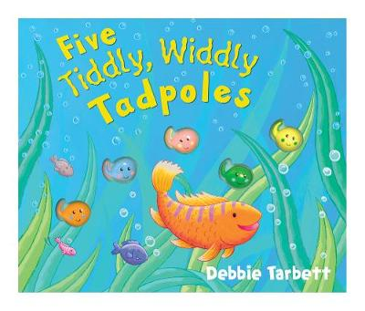 Five Tiddly, Widdly Tadpoles - Mini Moulded Counting Books