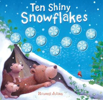 Ten Shiny Snowflakes - Moulded Counting Books