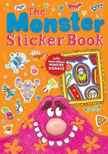 The Monster Sticker Book - Monster Books